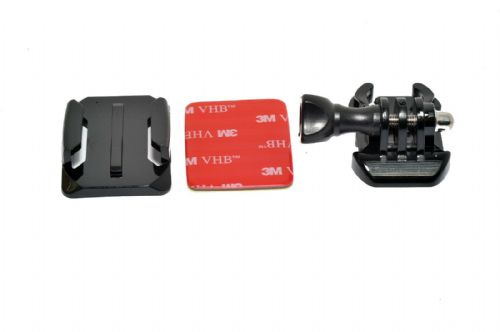 Curved Mount Quick Release Buckle and Screw for GoPro Hero Cameras